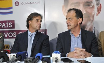 Lacalle Pou cuestionó la posición de Cabildo Abierto de no querer votar el fideicomiso