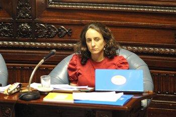 Senadora Carmen Sanguinetti (PC)