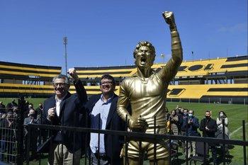 Fernando Morena, Jorge Barrera y la escultura