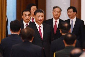 Xi Jinping, secretario general del Partido Comunista chino