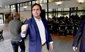 El presidente Luis Lacalle Pou recibirá a ministros, senadores y diputados en Suárez y Reyes