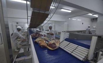 Hay cerca de 50 casos positivos de trabajadores de la planta del frigorífico Pul. Foto: archivo