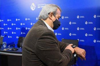 El ministro del Interior Jorge Larrañaga destacó que los operativos contra aglomeraciones contribuyeron al control sanitario