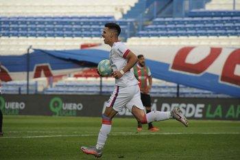 García, apurado tras el 1-1