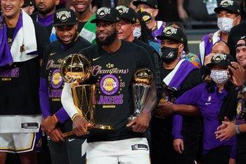 LeBron, campeón defensor y último MVP de las finales