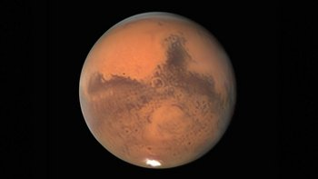 Vemos a Marte en todo su esplendor en esta foto de Damian Peach tomada el 30 de septiembre.