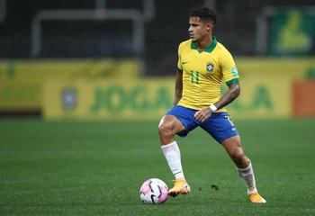 Philippe Coutinho, figura en Brasil