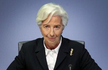 Christine Lagarde preside el Banco Central Europeo desde noviembre de 2019