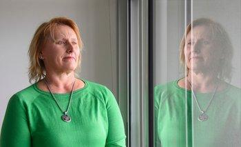 Karina Kulik, presidenta de la gremial que nuclea a las mujeres rurales.