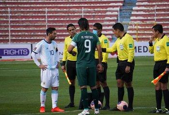 Lionel Messi y Marcelo Martins