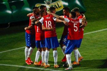 El festejo de Chile
