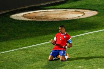 Gol de Alexis Sánchez