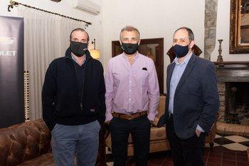 Patricio Fasano, Álvaro y Oscar Suárez