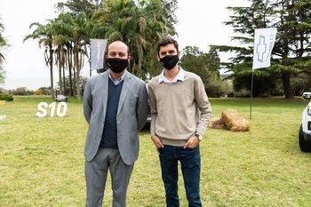 Rodrigo Barcia y Emiliano Cameto
