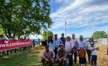 Zambrano & Cía logró dispersión total en Tierra de Toros: US$ 2.847 de promedio