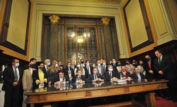 En grandes proyectos los legisladores han logrado sortear diferencias