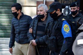 Gilberto Vázquez tras declarar ante la Justicia el pasado 16 de octubre