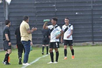 Lucas Rodríguez junto a Leonardo Ramos