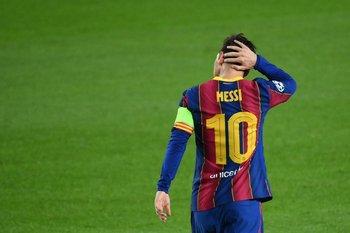Messi y la 10 de Barcelona