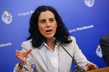 La ministra de Economía, Azucena Arbeleche, dijo que Uruguay destinó US$ 1.217 millones para hacer frente a la pandemia