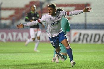 Gonzalo Bergessio en la Libertadores 2020