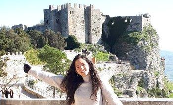 En el castillo de Erice