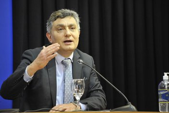 El director de la OPP Isaac Alfie.