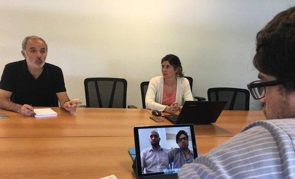 """La app """"salvavidas"""" de los sordos uruguayos durante la pandemia"""