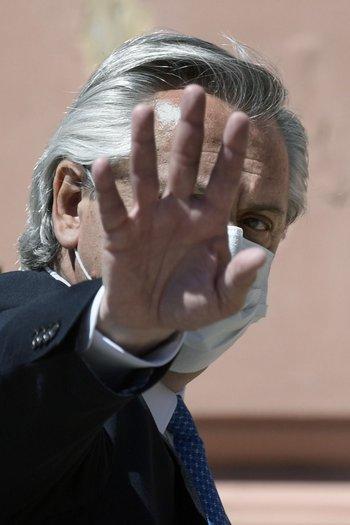 El gobierno de Alberto Fernández buscará renegociar la deuda que su país tiene con el FMI