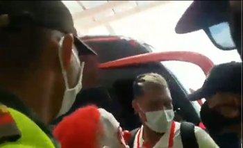 Hinchas de Junior de Barranquilla rompieron el protocolo