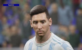 Así se ve Messi en el nuevo juego