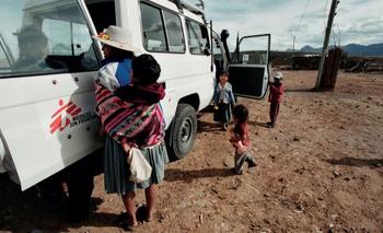 Juan Carlos Tomasi lleva dos décadas documentando el trabajo de MSF