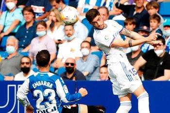 Federico Valverde jugó de puntero derecho en Real Madrid, un puesto que desconoce