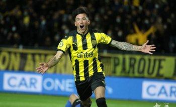 Ignacio Laquintana grita uno de sus goles