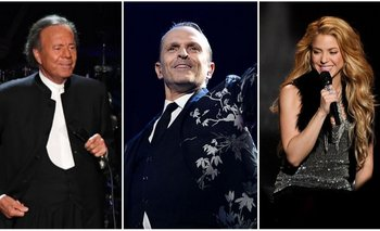 Julio Iglesias, Miguel Bosé y Shakira son algunos artistas que figuran en los Pandora Papers