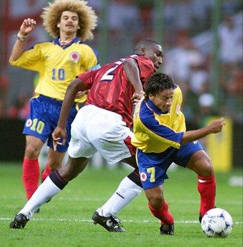 De Ávila supera al inglés Campbell en el Mundial de 1998