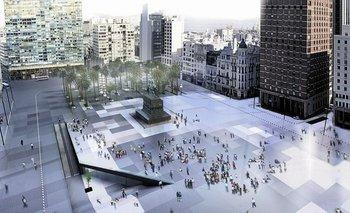Un proyecto fallido de renovación de la Plaza Independencia