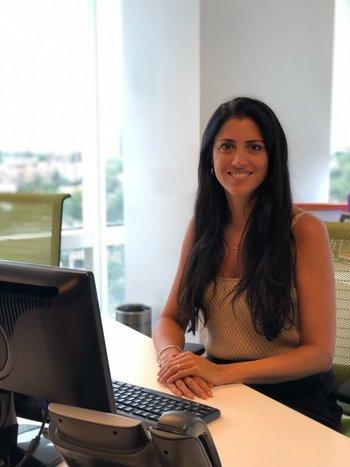 Lucía Cabanas, gerenta de Marketing, Comunicación corporativa y Sustentabilidad de Itaú Uruguay