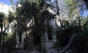 La demolición de la residencia Castellanos sobre Roque Graseras y Bulevar España se detuvo tras el aluvión de críticas