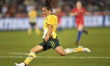 Lisa de Vanna, jugadora australiana