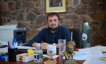 Carlos Rydström, director general de Desarrollo Rural del MGAP.