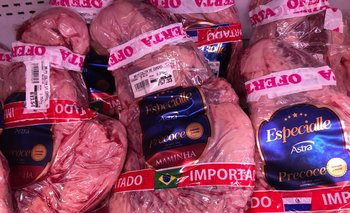 Cortes importados desde Brasil y Paraguay.