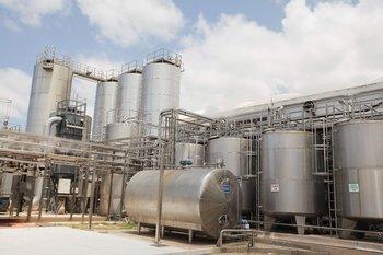 Uno de los complejos industriales de Conaprole.