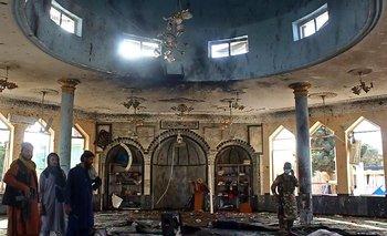 El atentado se produjo en una mezquita chiita de Kunduz