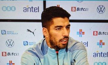 Luis Suárez habló en conferencia de prensa previo a enfrentar a Argentina