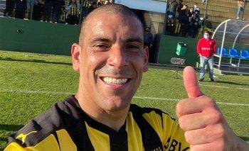 Maximiliano Pereira fue la figura de Peñarol ante Rentistas, con gol incluido