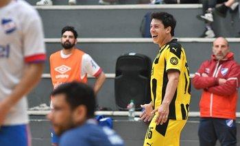 Peñarol derrotó a Nacional en el clásico de fútbol sala