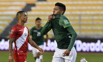 Ramiro Vaca celebra su gol