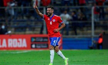 Mauricio Isla, el 2-0