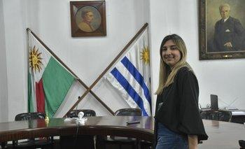 Melany Camejo asumió al frente de la Federación Rural de Jóvenes.